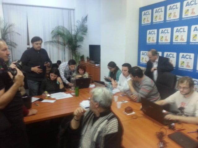 sediul PDL Suceava,rezultate alegeri
