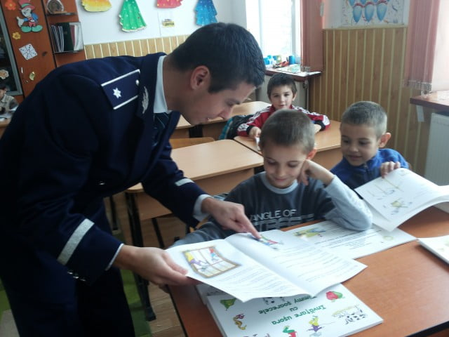 Actiune a politistilor de Mos Nicolae 07.12 (1)