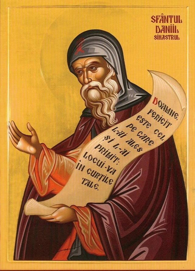 Sf. Cuvios Daniil Sihastrul
