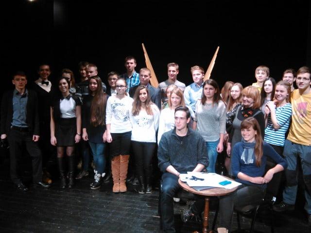 mentiune concurs de poezii din  Polonia.  (2)