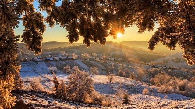Satul Pleșa surprins de fotograful Dorin Lucian Sveduneac