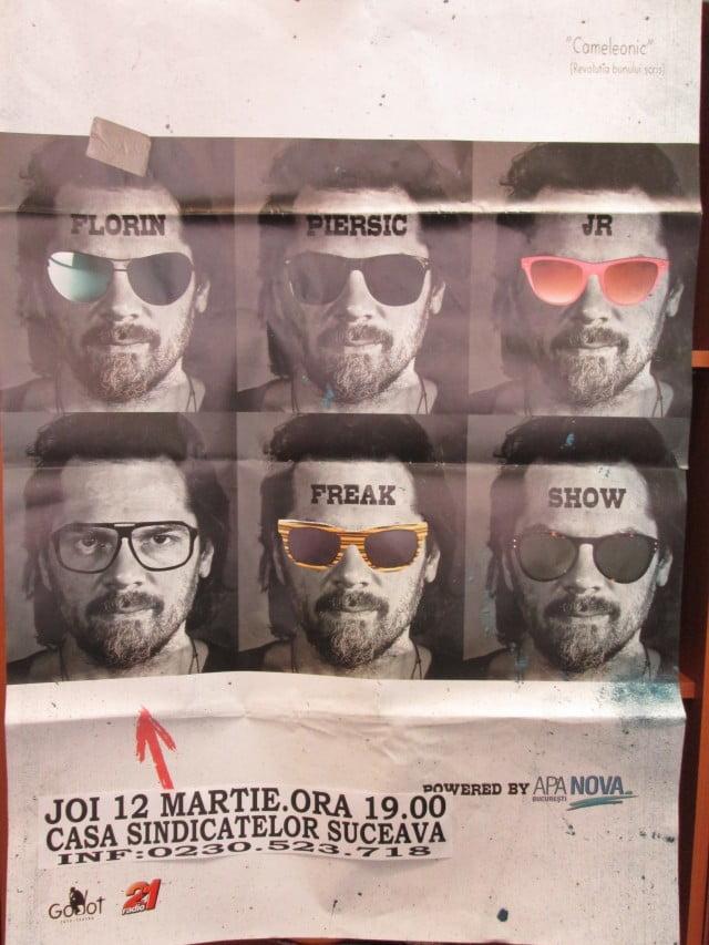 Florin Piersic jr.- freak show - Cameleonic
