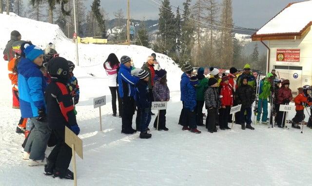 concursul national de schi pentru copii de la vatra dornei 1