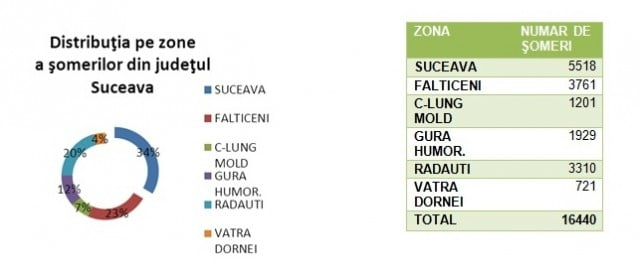 distributia pe zone a somerilor 2014
