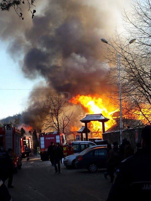 incendiu manastirea Sf.Ioan 11