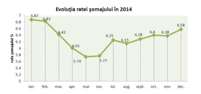 rata evolutiei somajului 2014