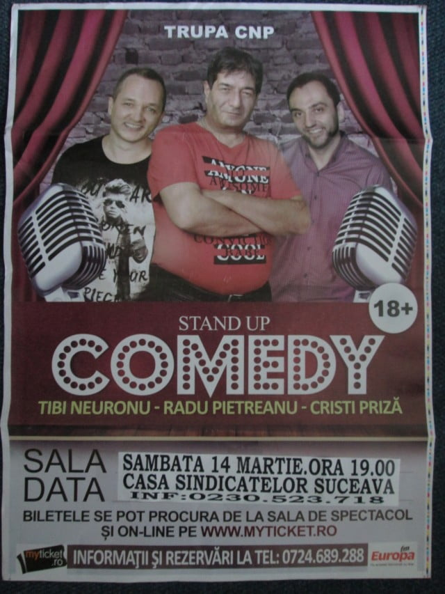 14 mart stand up comedy