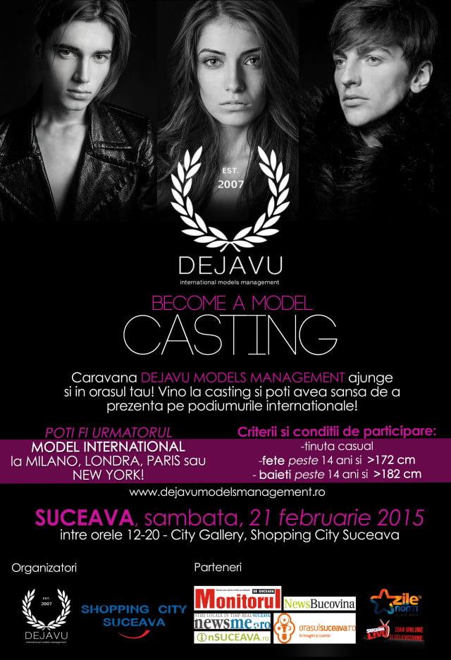 Casting Dejavu models