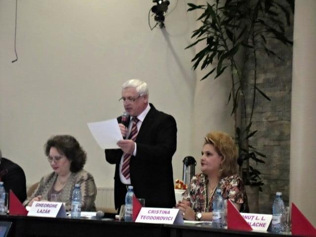 Gheorghe Lazar reuniunea semestriala de management institutional 1