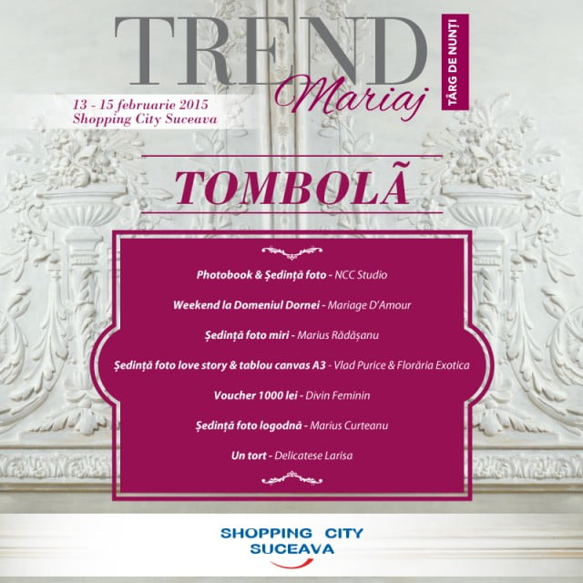 Tombola Targ de nunti 2015