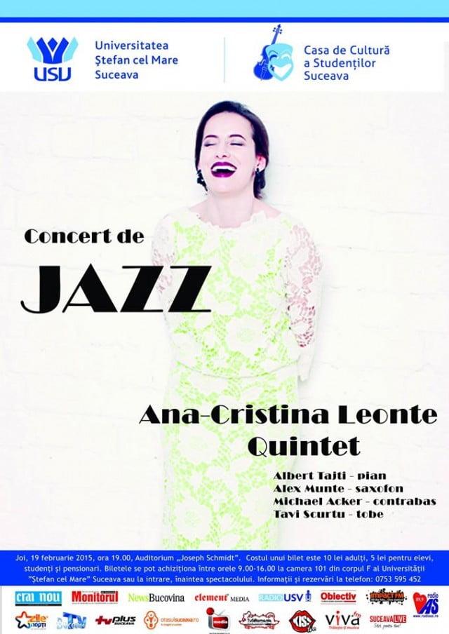 concert de jazz ana cristina leonte