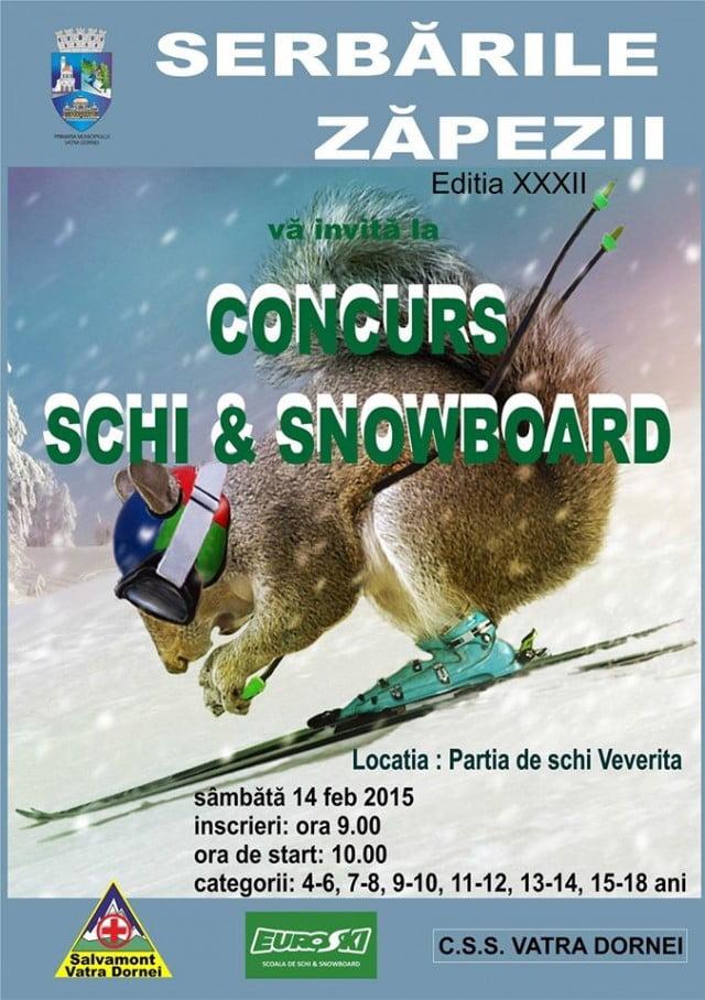 concurs de schi & snowboard serbarile zapezii