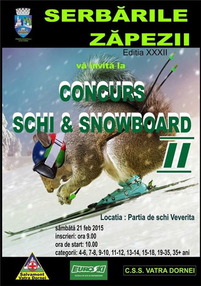 concurs de schi & snowboard