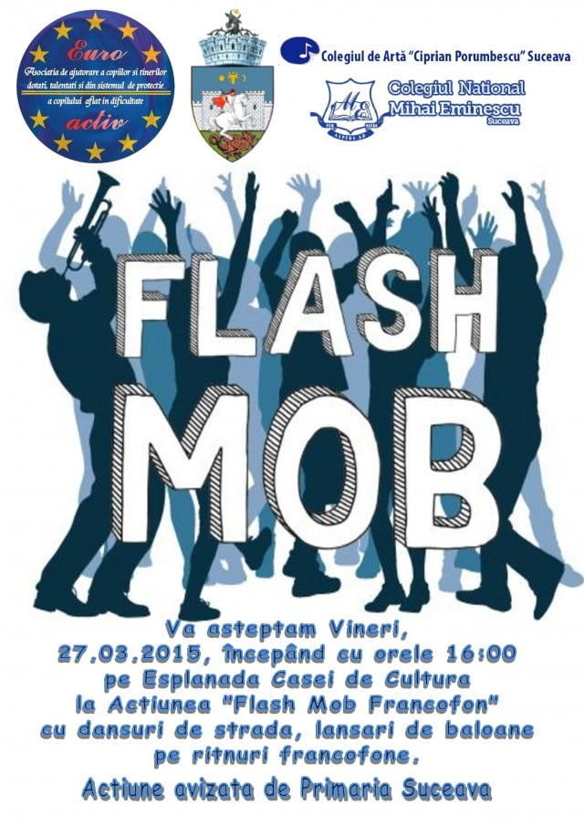 Flash Mob afis