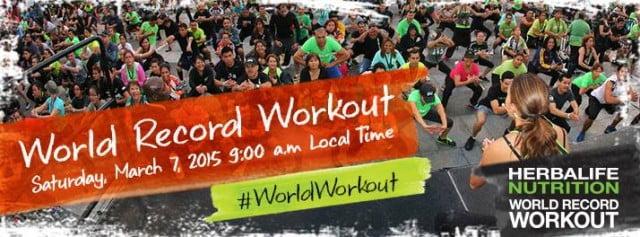 world record workout