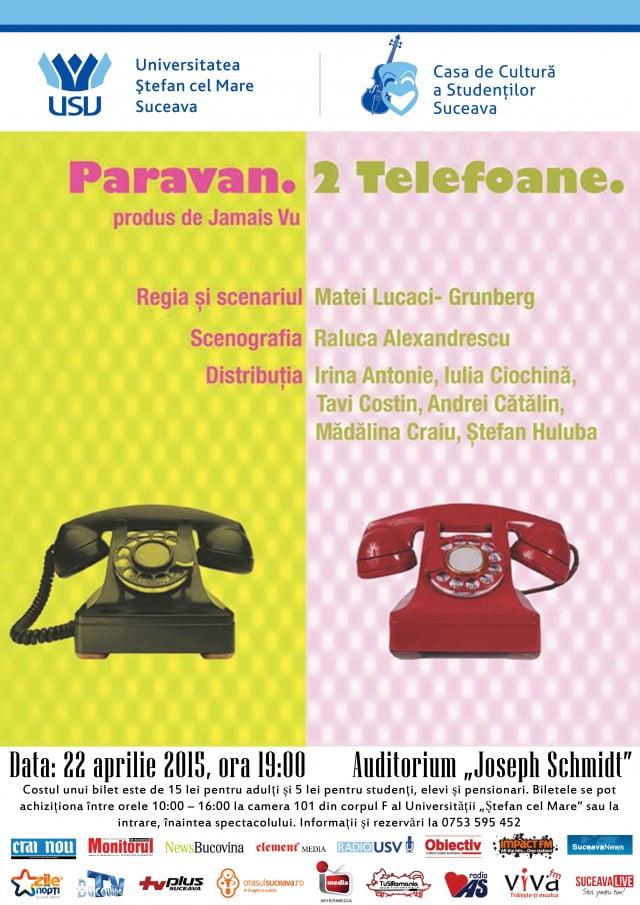 PARAVAN-DOUA-TELEFOANE