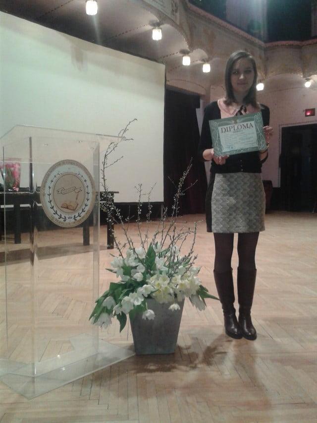 Palie Larisa  CN Nicu Gane Premiul II