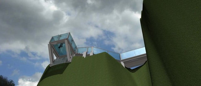1_Piatra Soimului_Rarau_model 3d skywalk