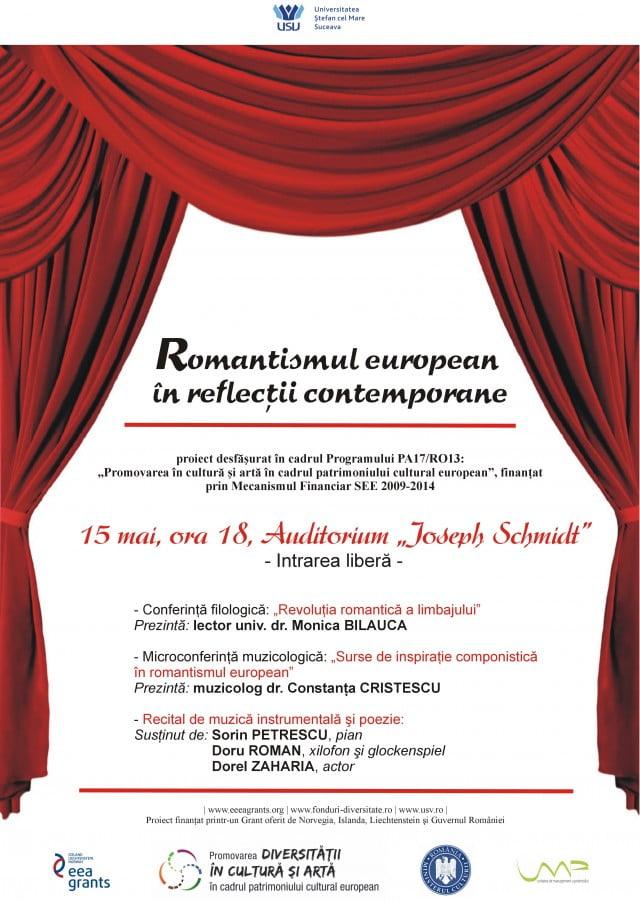 Afis Romantismul european