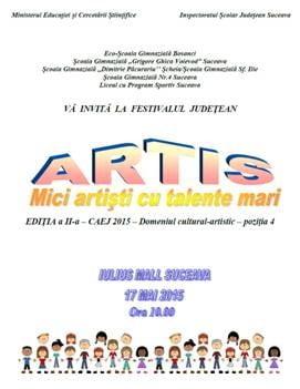 """Festivalul Judeţean """"Artis"""""""