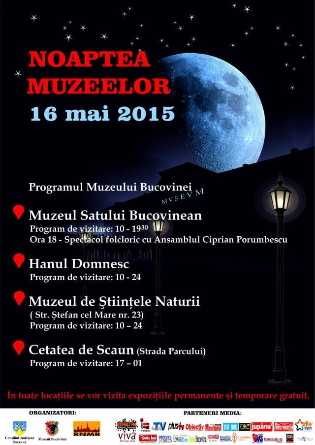 Noaptea muzeelor 2015 16 mai