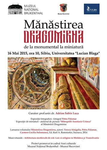 lansare volum manastirea dragomirna