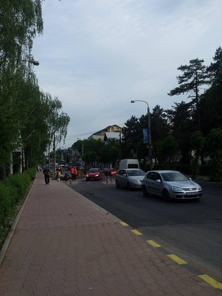 strada universitatii reparatii drum