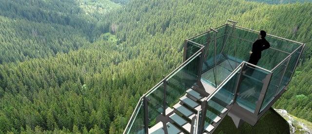 var 2 Piatra Soimului_Rarau_model 3d skywalk 2 var scurta