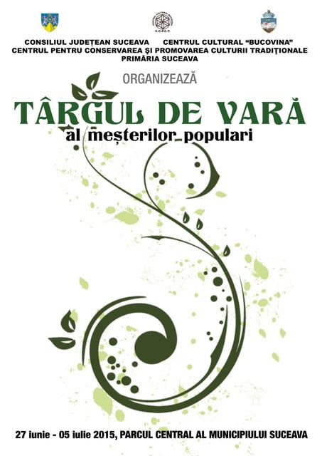 Afis -Targul de Vara 2015