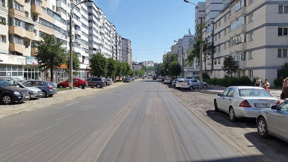 B-dul George Enescu 1 asfaltare
