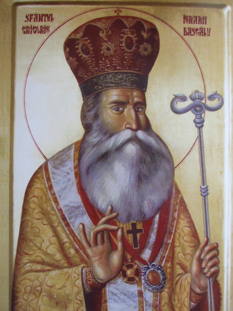 Sfantul Ierarh Grigorie Dascalul