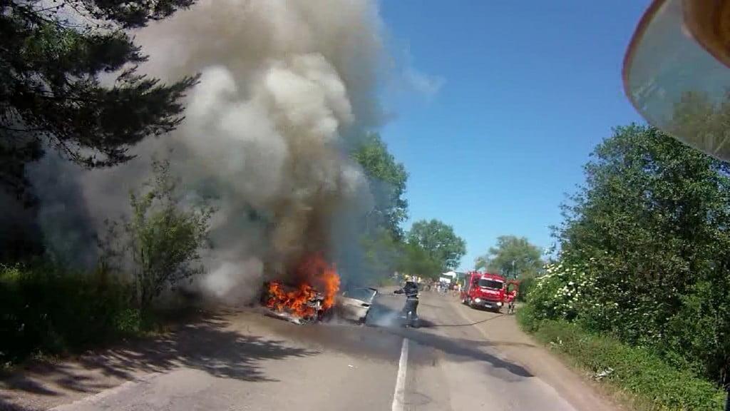 incendiu masina 1
