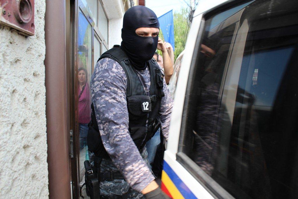 retinere politie arest mascat