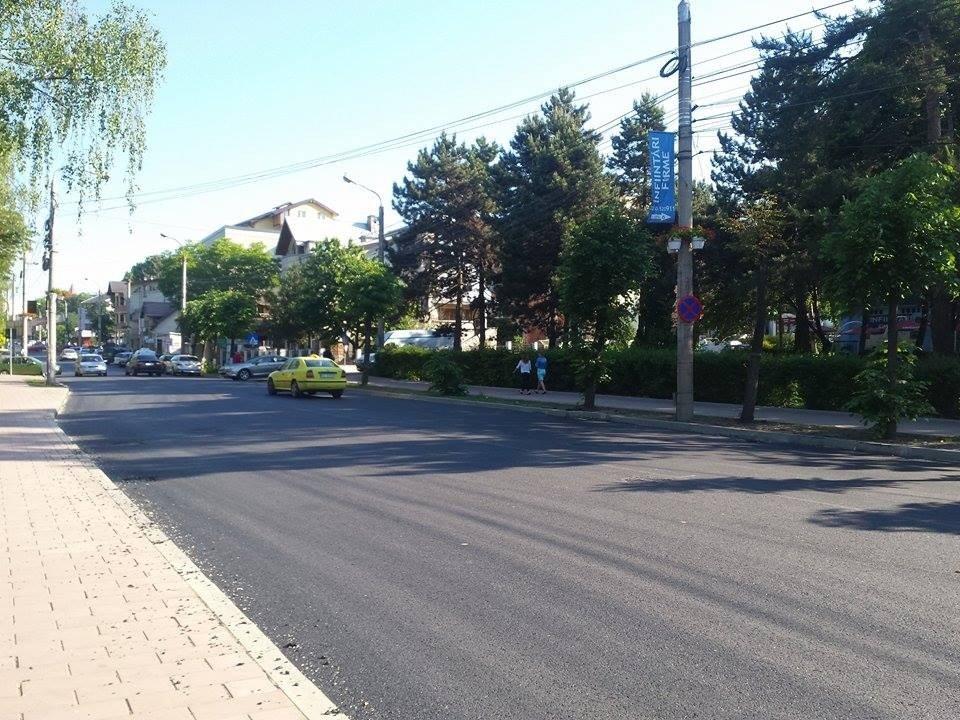 strada Universitatii asfaltare