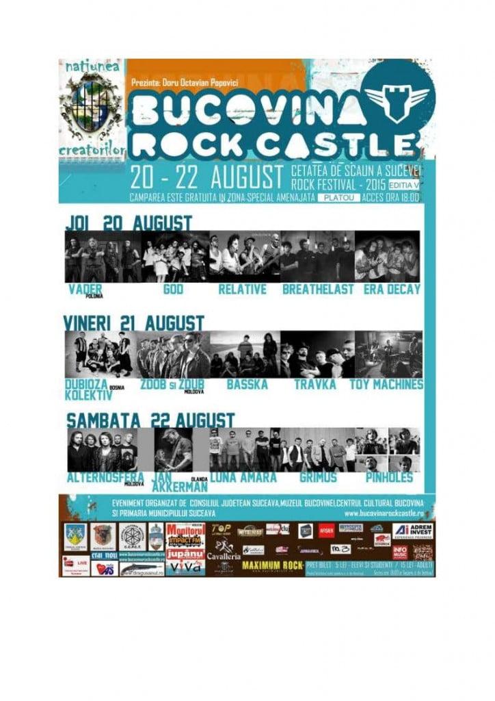 Bucovina Rock Castle 2015