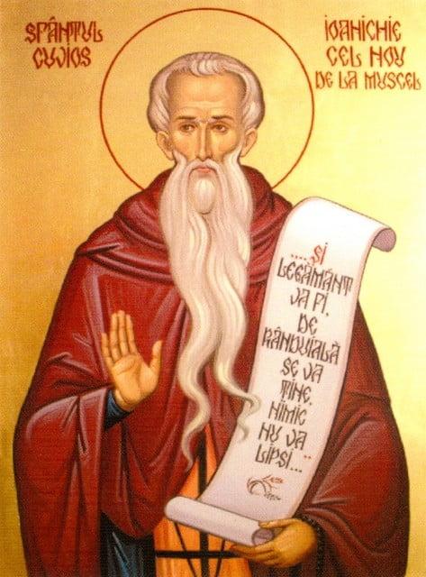 Sfantul Cuvios Ioanichie cel Nou de la Muscel