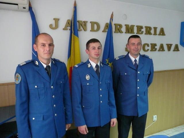 avansari in grad jandarmerie