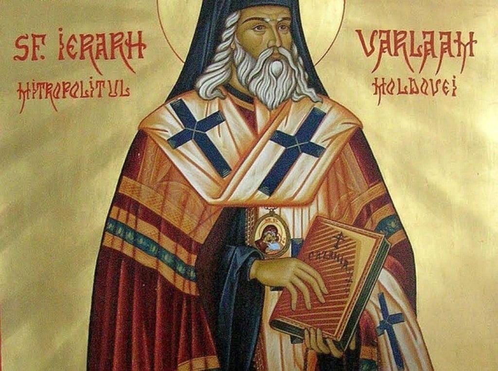 Sf. Varlaam Mitropolitul Moldovei