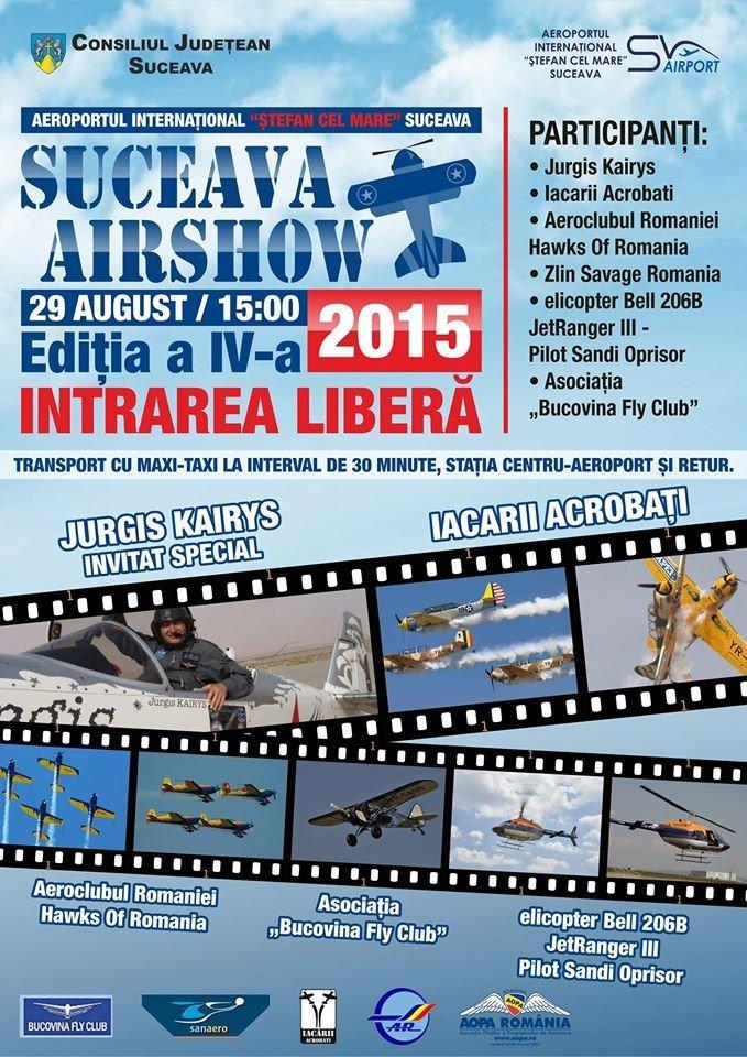 afis Suceava-Air Show
