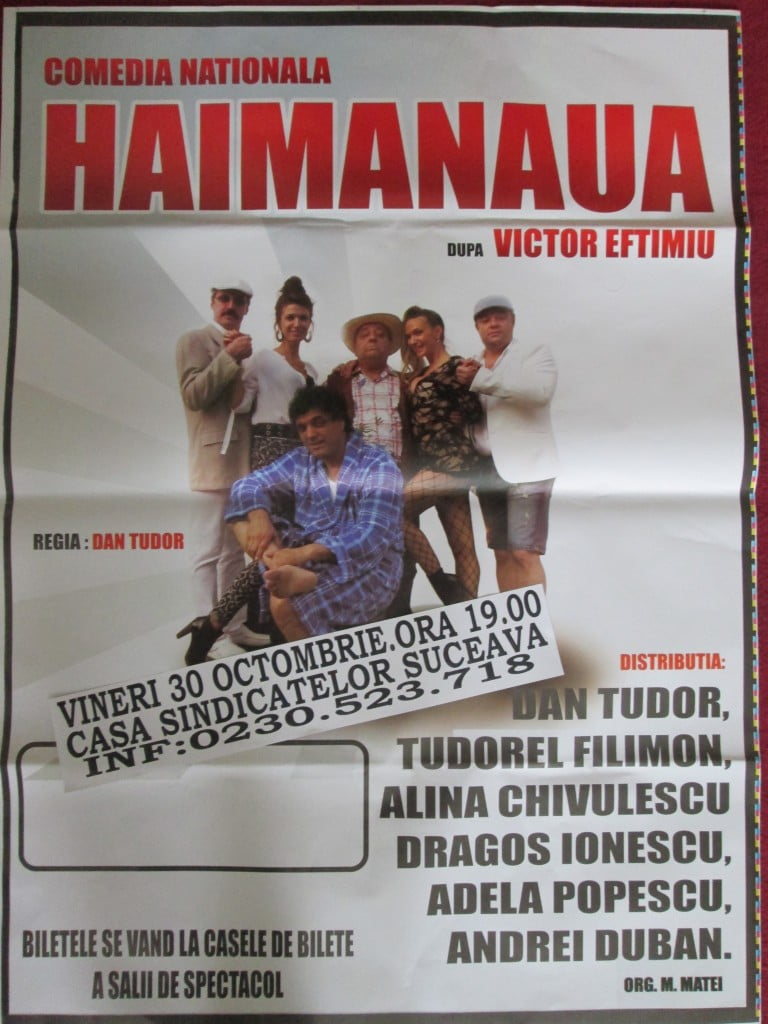 30 oct HAIMANAUA