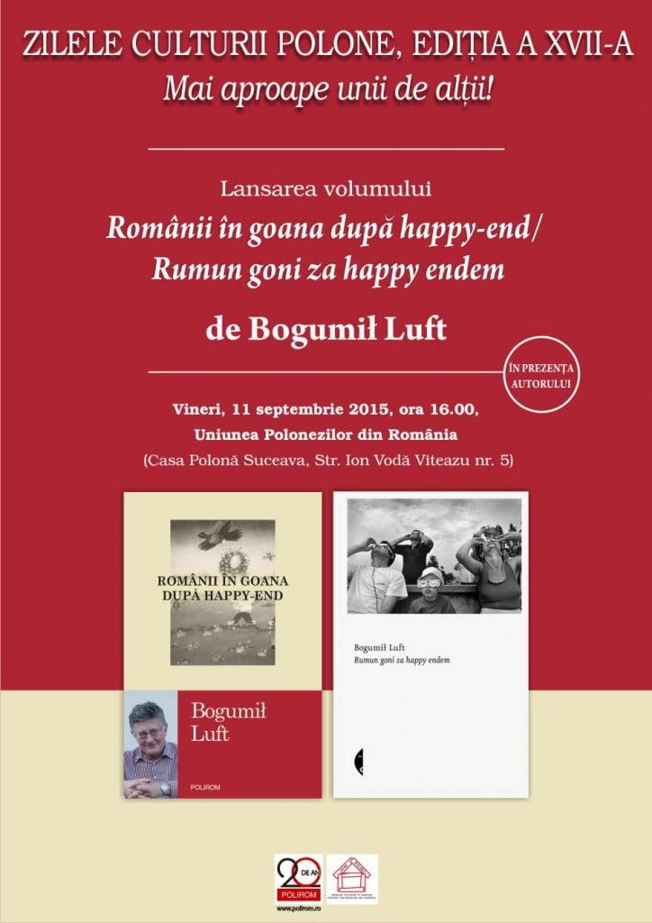 Afis Romanii in goana dupa happy-end