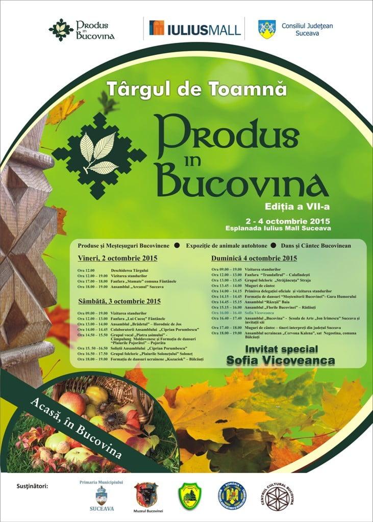 Produs in Bucovina - Iulius Mall Suceava