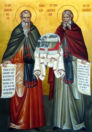 Sfintii Simeon si Amfilohie de la Pangarati