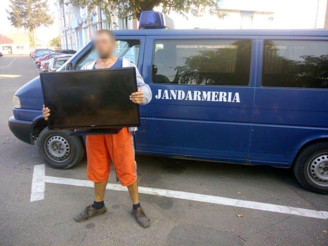 televizor furat