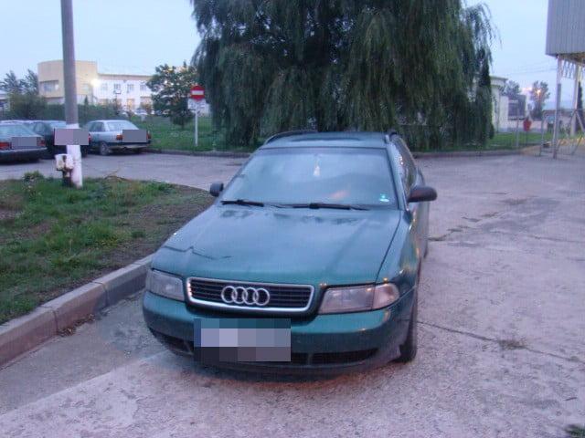 Audi furat din Bulgaria