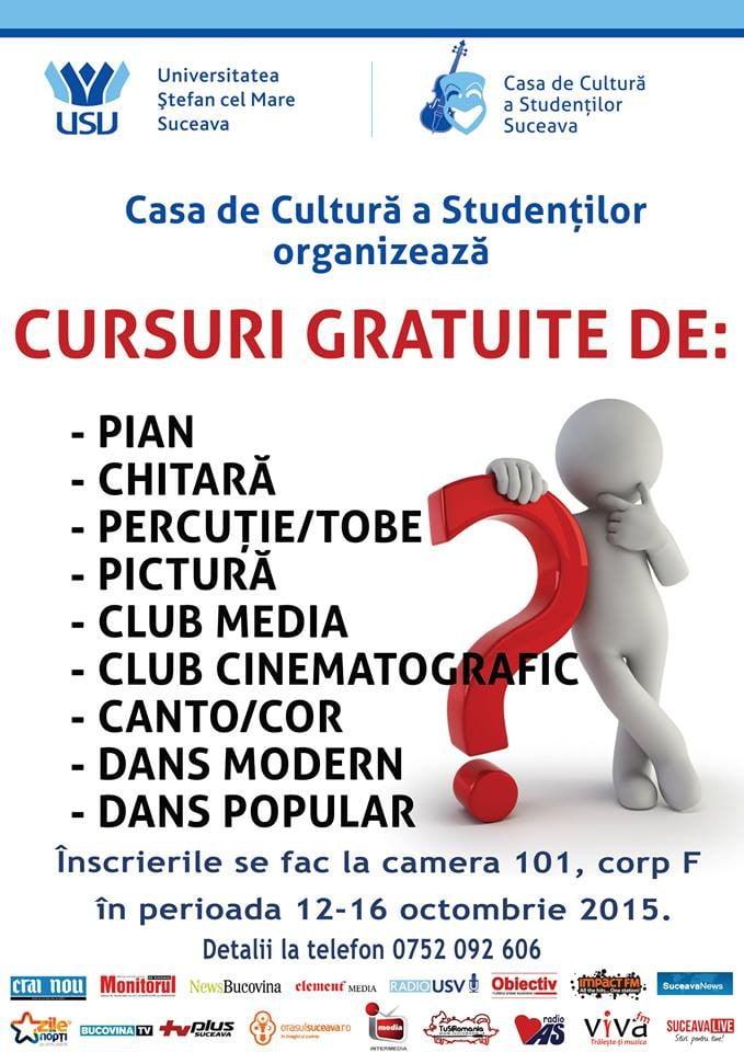 cursuri studenti