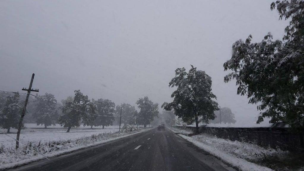 drum, iarna, zapada, ninsoare, trafic (8)