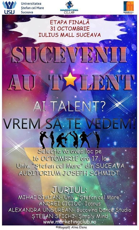 sucevenii au talent
