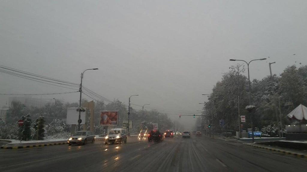 trafic suceava, iarna, ninsoare