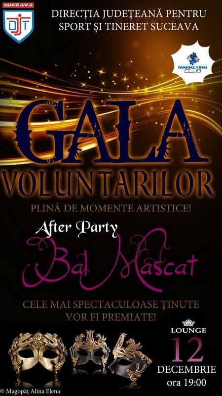 Gala Voluntarilor BAL mascat Clubul de Marketing